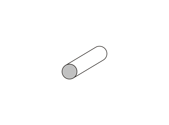 Bastón Ø 10 mm.