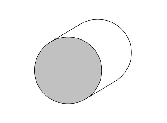 Bastón Ø 45 mm.
