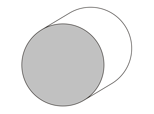 Bastón Ø 60 mm.