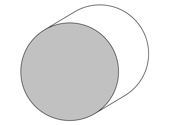 Bastón Ø 65 mm.